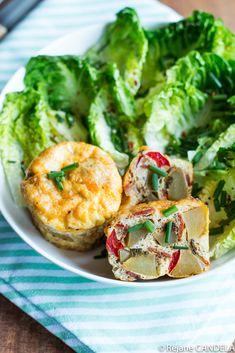 Mini Tortilla aux Pommes de terre, Poivrons & Chorizo Chorizo, Food For Love, Brunch, Mini Tortillas, Salmon Burgers, Healthy Life, Shrimp, Potatoes, Nutrition