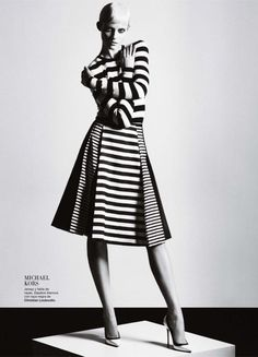 Publication: Harper's Bazaar Spain February 2013  Model: Ginta Lapina  Photographer: Txema Yeste  Fashion Editor: Melania Pan
