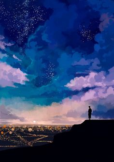 Wallpaper Animes, Wallpaper Backgrounds, Fantasy Kunst, Fantasy Art, Graphisches Design, Wow Art, Anime Scenery, Fantasy Landscape, Aesthetic Art