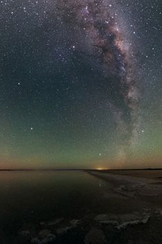 Stories from The Sky: Astronomy in Indigenous Knowledge by Duane Hamacher | 2/28/15 Arcturus and the Milky Way over Lake Hart