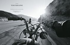 Editorial spread from Iron & Air magazine