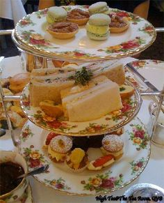 High Tea at the QVB  - The Tea Room #Sydney #Australia