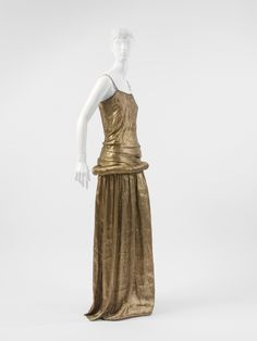 "more of a colour inspiration...  Paul Poiret ""Irudree"" dress ca. 1923 via The Costume Institute of the Metropolitan Museum of Art. Paul Poiret- early 1900's iconic designer who used middle eastern and asian influences"