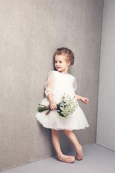 Nellystella Flower Girl Dress White