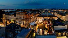 world's best roof-top bars - The Beach: Grand Hotel de Bordeaux, France