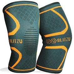 Price:    Benefits of wearing Blitzu® Flex Plus Compression knee Sleeves:  Basketball players, Tennis Players, Baseball Players, and Golfers, – Train Hard without worrying about injuries such as muscle strains, cramps, and fatigues. Outdoor enthusiasts and Athletes – Less muscle...