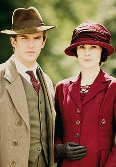 'Downton Abbey', impeccably designed period costumes.