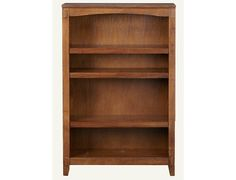 Cross Island Collection - Brown Medium Bookcase