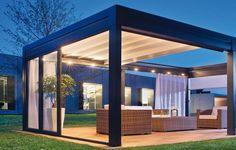 pergola austral by roche habitat un projet de pergola alu. Black Bedroom Furniture Sets. Home Design Ideas