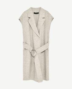 Image 8 of LONG WAISTCOAT from Zara