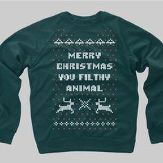 Chitown Clothing — Home Alone Christmas Sweater Crewneck Sweatshirt