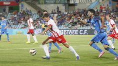 Getafe marca primeiros pontos no Espanhol com vitória sobre o Almería