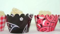 Cowboy Cupcake Wrappers for Western boy birthday by thatsawrap2, $10.00