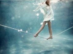 Life is like walking on a tightrope. On one arm you have work and finances and on the other you have family, health and hobbies. You got to find a balance in life. Just Be Yourself, Be Happy ~ The Blonde B