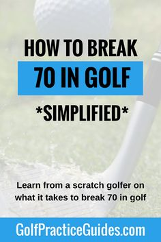 Want to break 70 in golf? Need practice drills, tips, or lessons to motivate you to achieve that next level on the golf course? Then use this guide which shares my thoughts on what milestones you need to hit during your golf practice routines for chipping