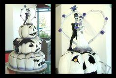 Pumpkin cake for Halloween wedding?