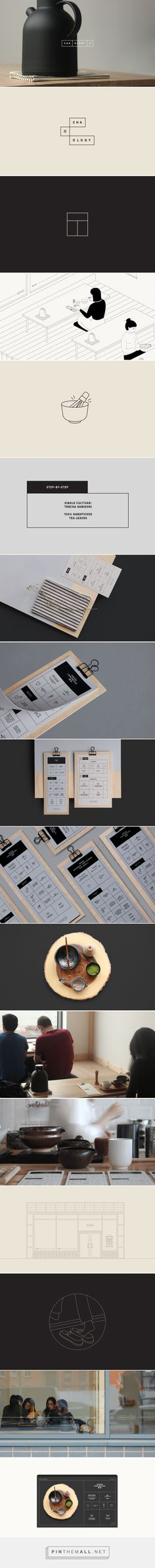Cha.ology on Behance - created via https://pinthemall.net