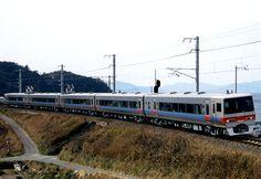 JR Shikoku 8000 series electric multiple unit in Japan