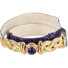 Pre-owned Judith Leiber Purple Snakeskin Waist Belt ($175) ❤ liked on Polyvore featuring accessories, belts, purple, judith leiber belt, hook belt, purple belt and judith leiber