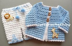 Crochet coat-bloomers, a free crochet pattern for a 0-3 month baby, made in a worsted weight #3 yarn on a 4.00mm crochet hook.....................