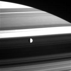 Saturn + Dione