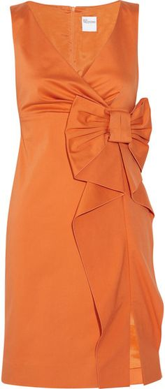 VALENTINO Brushed stretch cotton dress. I would NEVER wear this to a game but damn it's gorgeous!