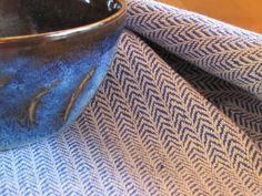 handwoven kitchen dish towel.