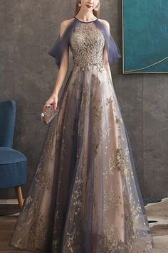 Men & Ladies - Evening Gown /Party Dress - Page 1 - eVintageLife Ball Dresses, Ball Gowns, Prom Dresses, Formal Dresses, Elegant Dresses, Pretty Dresses, Beautiful Dresses, Fantasy Gowns, Queen Dress