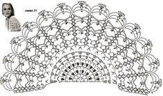 Ажурные вязаные рукавчики. Обсуждение на LiveInternet - Российский Сервис Онлайн-Дневников Crochet sleeve