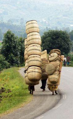 Ruanda, enceres con vida propia