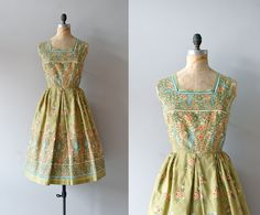A perfect [Vintage] dress for a Summer holiday.