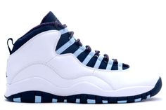 Jordan Retro 10 X Ice Blues White Obsidian - Varsity Red 310805-141   $68.00