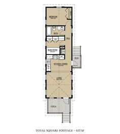 Under A 1000 Sq Ft House Plans With Loft Modular Little