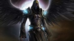 """""""Azrael"""" El Fundamento, es la tiniebla mas oscura y el resplandor segador, un elemental, el unico , renegado absoluto. Potencial destructor de dioses"""