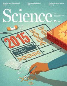 Davide Bonazzi - Science magazine cover. AD Beth Rakouskas, Chrystal Smith. Conceptual, editorial, medical illustration