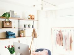 cute office decor. Archzine.fr Maison Comment-creer-une-ambiance-cocooning Cute Office Decor