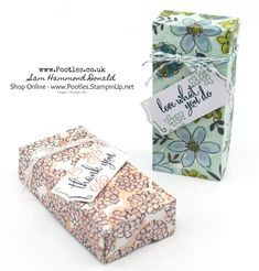 #1 Stampin' Up! Demonstrator Pootles - Share What You Love Fold Over Box