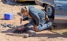The Walking Dead Season 6 Episode 14 'Twice As Far' Denise