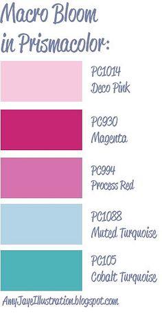 a design-seeds palette translated into Prismacolor by AmyJayeIllustration.blogspot.com