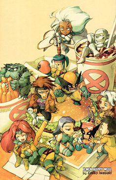 Chibi X-Men