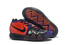 new products 26a16 6d016 Nike Kyrie 4 Red Human Skeleton Men s Basketball Shoes Irving Sneakers  Kyrie Basketball, Kevin Durant