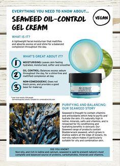 Vegan formula by The Body Shop Moisturiser, The Body Shop, Seaweed, Facial, Vegan, Cream, Shopping, Products, Creme Caramel