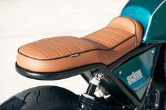 Yamaha Cafe Racer, Yamaha Fz, Bmw Classic, Classic Bikes, Custom Motorcycles, Custom Bikes, Fz 16, Tracker Motorcycle, Bike Leathers