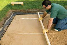 Building A Patio, Make It Simple, Home Improvement, Cottage, Day, Design, Cottages, Cabin