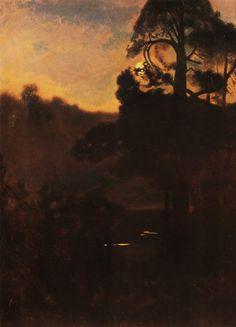"""scribe4haxan: """" Evening Twilight (1906) ~ Józef Chełmoński """""""
