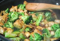 Broccoli with chicken breast
