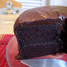 Amazing Chocolate Buttermilk Layer Cake