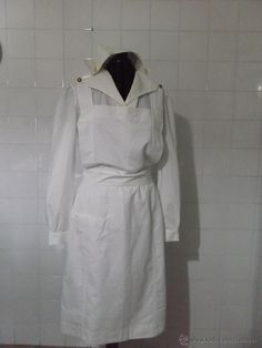VIEJO UNIFORME DE ENFERMERA / OLD NURSE UNIFORM