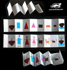 The Turnip – An Accordion Pocket Booklet Creative Activities, Preschool Activities, Children Activities, Art For Kids, Crafts For Kids, Art Area, Handmade Books, Eyfs, Writing Skills