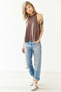 Kimchi Blue Florence Tank Top - Urban Outfitters